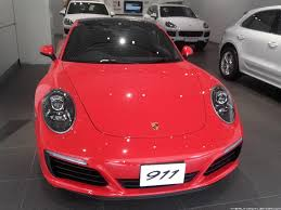 porsche india the automotive india new porsche 911 range makes debut in india
