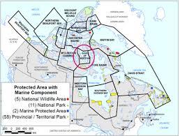 The Map Of Canada by Highest Polar Bear Density Polarbearscience