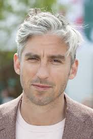 mens hairstyles with grey hair fade haircut