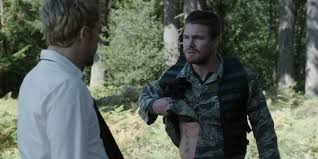 arrow how oliver u0027s constantine tattoo will impact the show