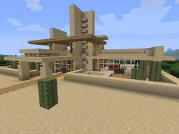 modern desert home minecraft project