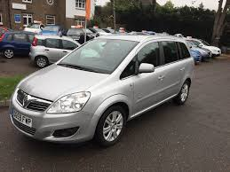 vauxhall zafira 2008 2010 vauxhall zafira 1 6 i 16v design 5dr for sale trade a car