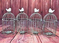 Shabby Chic Bird Cages by Shabby Chic Bird Cage Candle U0026 Tea Light Holders Ebay