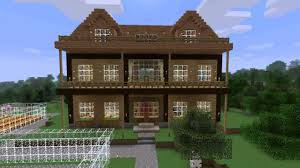 minecraft wood house ideas
