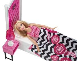 Barbie Beds Amazon Com Barbie Doll And Bedroom Furniture Set Toys U0026 Games