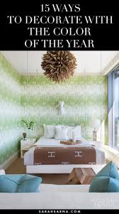 15 ways to decorate with pantone color of the year 2017 sarah sarna