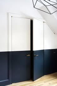 half painted wall door at the lake interiors pinterest