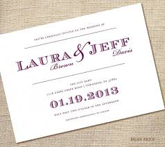 simple wedding invitations simple wedding invitations with stylish