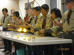 arrow of light decorations blog cub scout pack 216 meeting at holy trinity 7595