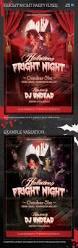 halloween fright night poster flyer v03 fright night flyer
