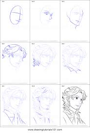 masaomi brothers conflict how to draw hinata rintarou from brothers conflict printable step