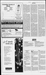 illinois cremation society tribune from chicago illinois on august 1 2000 page 147