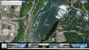 Google Map Of New York by Niagara Falls New York Map