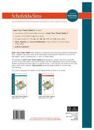 Learn Times Tables Learn Your Times Tables 2 Ks2 Maths Ages 7 11 Amazon Co Uk