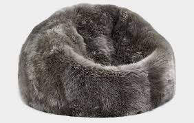 wrap yourself in softness with sheepskin bean bag by parker wool