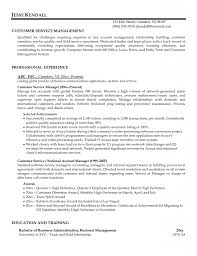 Resume Qualifications For Customer Service Customer Service Career Summary Examples Eliving Co