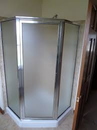 Angled Shower Doors Framed Shower Doors Milwaukee Glass Shower Doors Waukesha