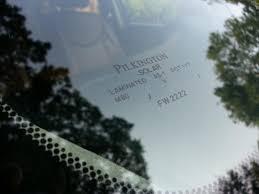 lexus gs 350 windshield replacement went with pilkington glass clublexus lexus forum discussion