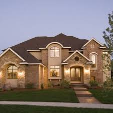 Transitional Home Style by Modern Warm Design Of The Contemporary Ranch Homes With Photo With