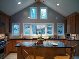 emerald pearl granite kitchen contemporary with ceiling lighting