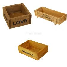 online buy wholesale wood box garden decor from china wood box