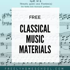 free sheet classical recordings history freely
