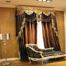 brown swag curtains brown valance curtains for living room brown