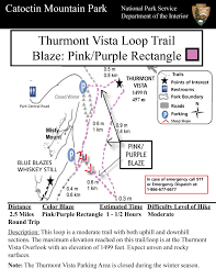 3 5 M To Feet by Https Home Nps Gov Images Thurmont Vista Loop Tr