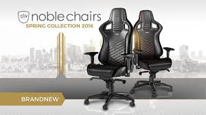 Leather Gaming Chairs Noblechairs Epic Series Premium Gaming Chairs Caseking Tv Youtube
