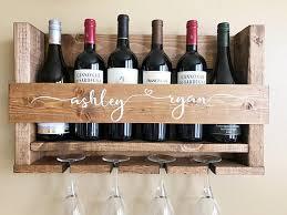 unique wine racks wine rack unique wine rack 5th anniversary gift handmade