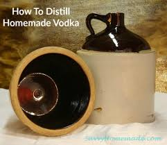 distilling homemade vodka
