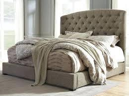 Tufted King Bed Frame Leather Upholstered King Bed Frame Slisports