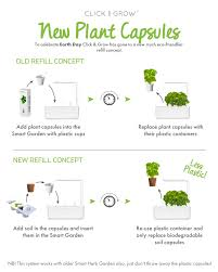 how do i use my plant capsules u2013 click u0026 grow