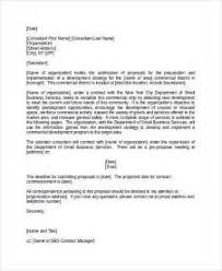sponsorship proposal cover letter business proposal cover letter