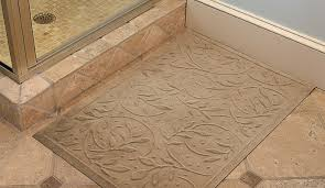 Thin Bath Mat Safety Bath Mats Reduce Bathroom Fall Risk Dailycaring