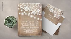 wedding invitations lace rustic wedding wedding invitations by jinaiji