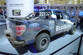 baja truck racing ford u0027s new 2 7 ecoboost engine arrives in detroit in baja race