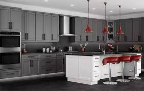what color backsplash with gray cabinets gray kitchen cabinets