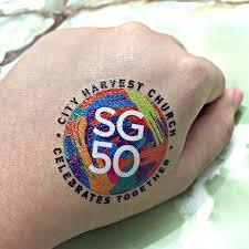 ndp temporary tattoos singapore