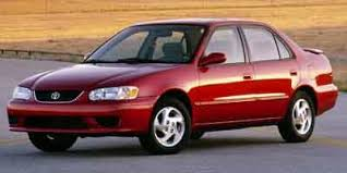 2001 toyota corolla le review 2001 toyota corolla sedan 4d le specs and performance engine