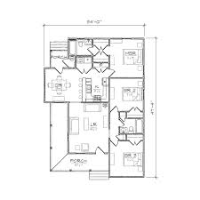 Home Plans For Small Lots Extraordinary Design 4 One Story House Plans For Corner Lot And