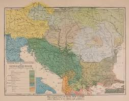 Map Eastern Europe Macedonian Truth Organisation Macedonians Noted On A Map Of The