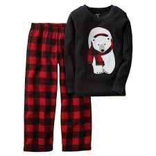 2 thermal fleece pjs clothing boys and