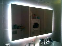 bathroom mirrors with lights behind led bathroom mirror led bathroom mirrors led light bathroom mirror