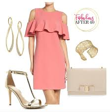 coral dresses for wedding guests what to wear to a or summer wedding fabulous after 40