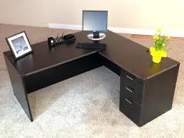 Desk L With Organizer Office L Desk Wooden L Desk Shaped Distressed Wood Office Steel