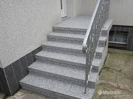 treppe auãÿen marmorix steinteppich verlegebeispiele treppen