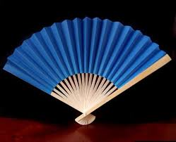 paper fans for weddings 9 blue paper fans for weddings 10 pack on sale now
