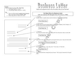 Letter For Closing A Business by Parts Of A Business Letter Quiz The Letter Sample