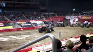 monster truck shows in indiana monster jam at the ford center evansville indiana 2012 part 4 youtube